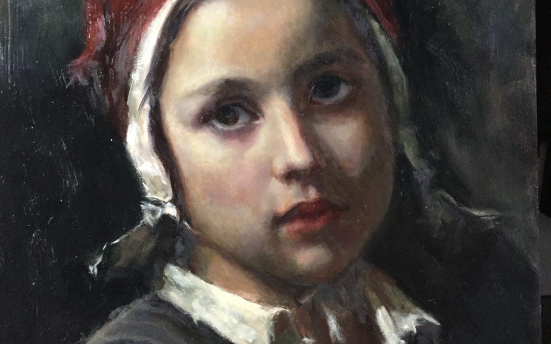 Classic Portrait Study at the Scottsdale Artists' School (Arizona)