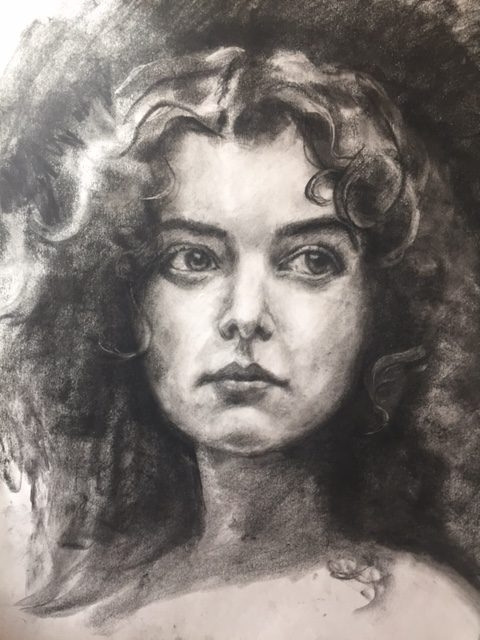 One Hour Weekend Challenge – Portrait Drawing