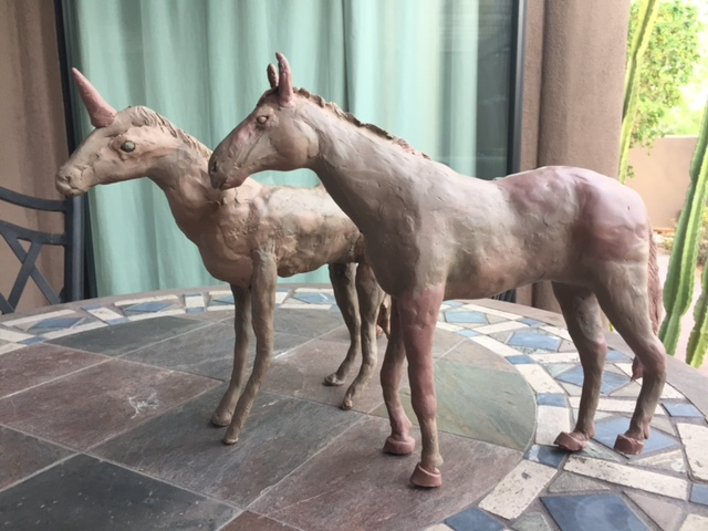 2-Day Workshop of Clay Horse