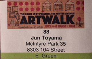 Whyte Avenue Art Walk 2018